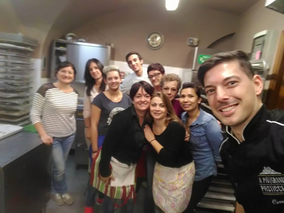 Corso torte da forno con Corrado Carosi 27-28/10/2016