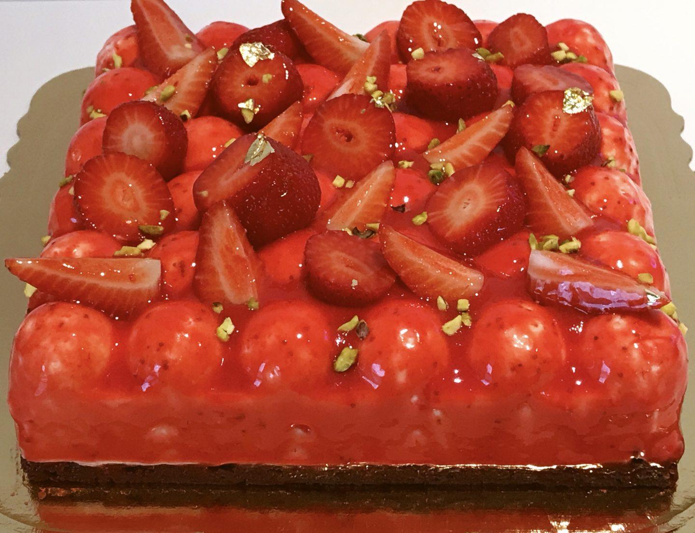 Un carico di fragole per un cheesecake fragoloso!
