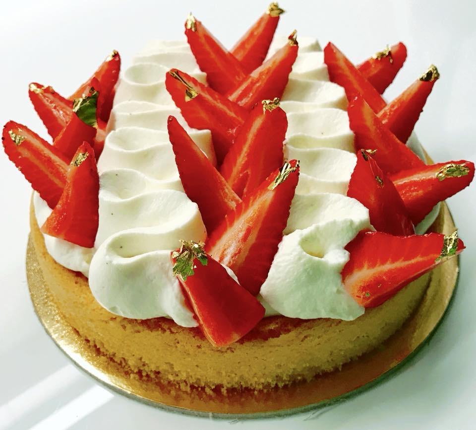 Fragole…fraises…tarte aux fraises!