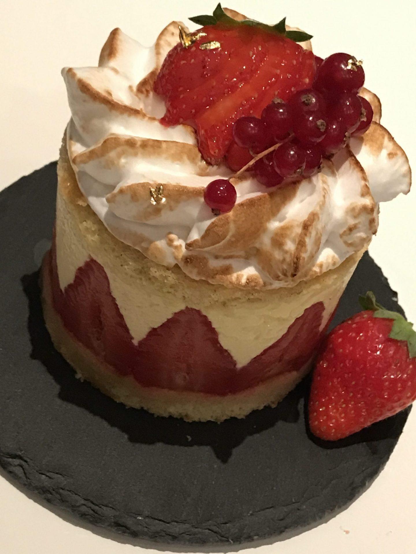 Fraisier di Pierre Hermé (torta francese di fragole)