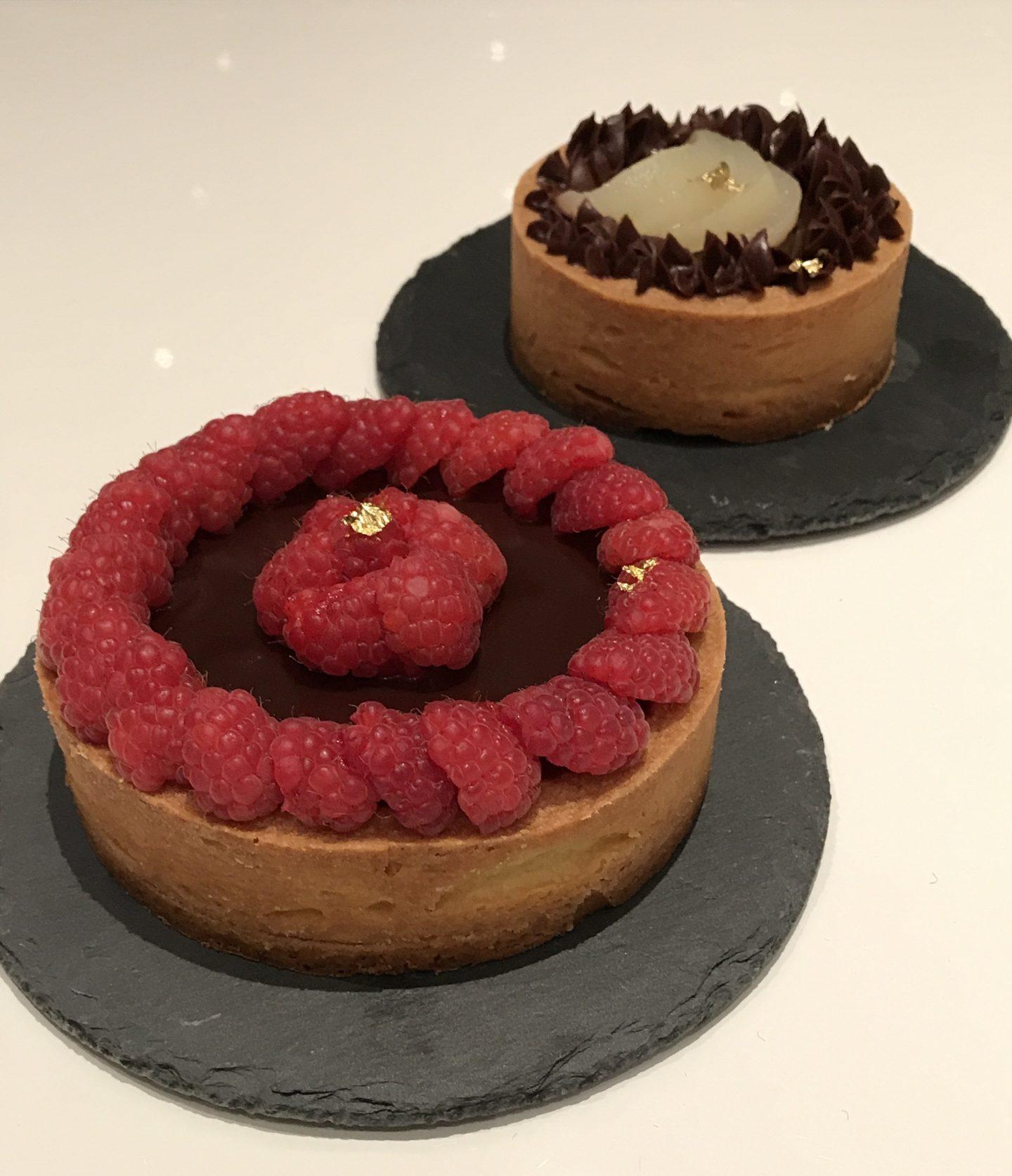 Tre tarte cioccolatose…