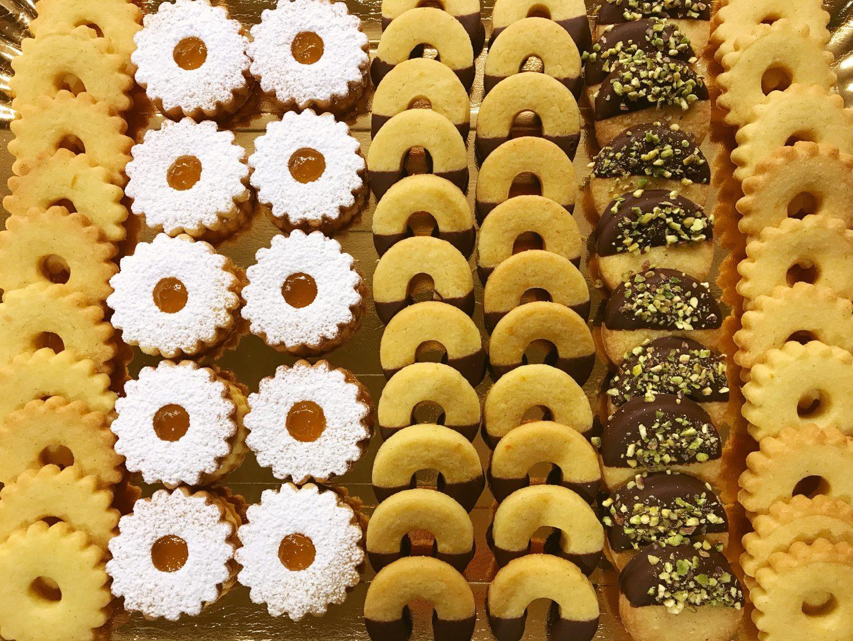Biscottini di frolla sablè