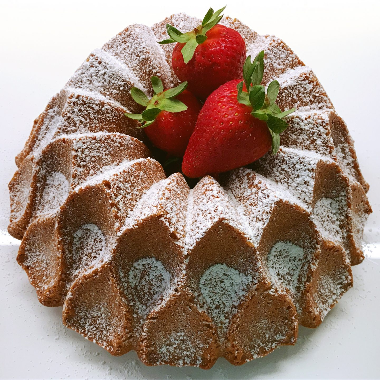 Torta paradiso che diventa un Bundt Cake!