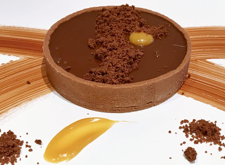 Una deliziosa tarte choco-passion!